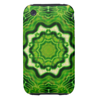 WOOD Element kaleido pattern iPhone3 case Tough iPhone 3 Cover