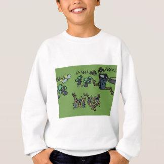 Wood Elves vs Beastmen Sweatshirt