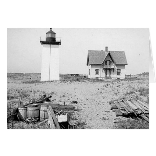 Wood End Lighthouse Greeting Cards