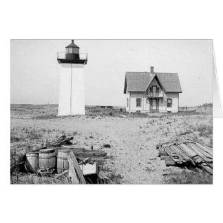 Wood End Lighthouse Greeting Card