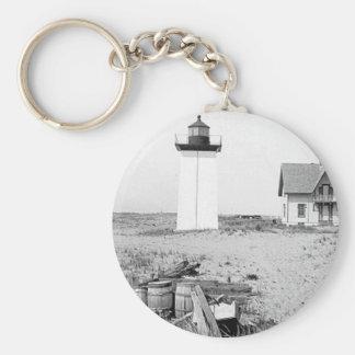 Wood End Lighthouse Key Ring