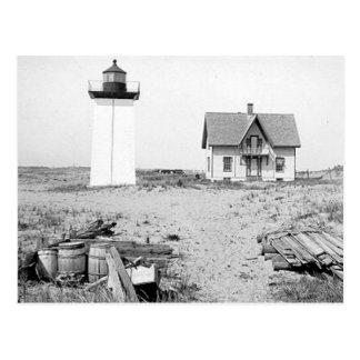 Wood End Lighthouse Postcard