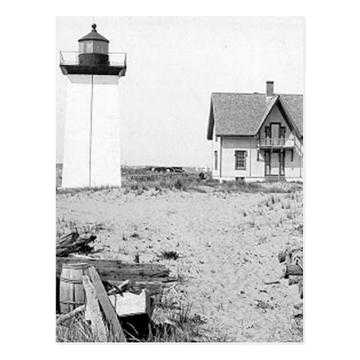 Wood End Lighthouse Post Card