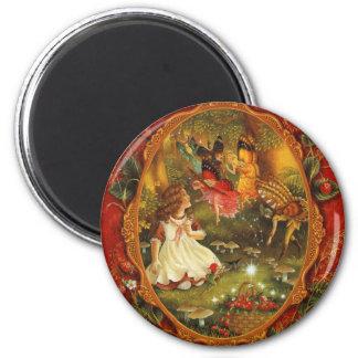 Wood Fairies Magnet