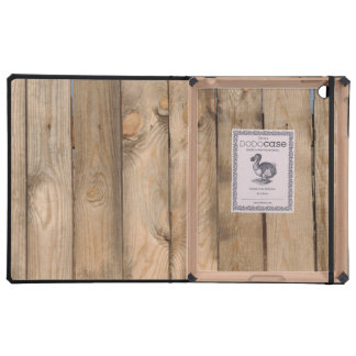 Wood Fence Cover For iPad