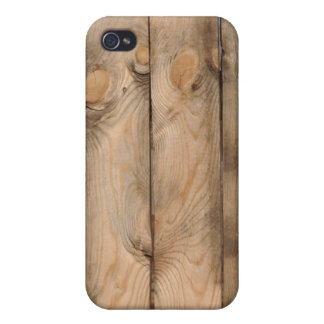 Wood Fence Cover For iPhone 4