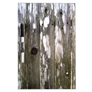 Wood Fence Texture Photography Dry Erase Board