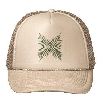 Wood Fern Collage Mesh Hat