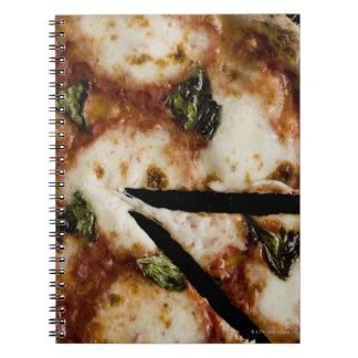 wood-fired cheese pizza notebook