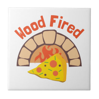 Wood Fired Small Square Tile