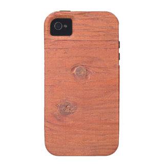 Wood Grain 2 MF iPhone 4 Cover