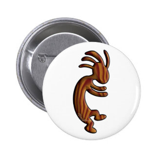 Wood Grain 6 Cm Round Badge