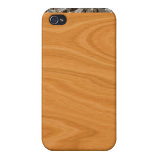 Wood Grain Abstract iPhone 4/4S Covers