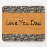 Wood Grain Abstract Mouse Pad