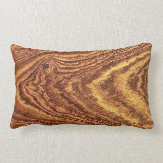 Wood Grain Accent Pillow
