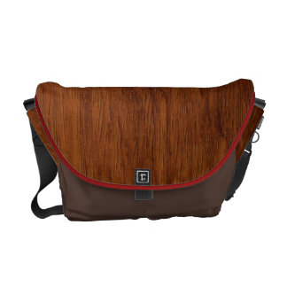Wood Grain bag Commuter Bags