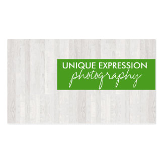 Wood Grain Double-Sided Standard Business Cards (Pack Of 100)