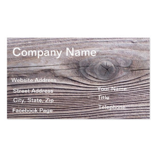 Wood Grain Business Profile Card template design Pack Of Standard Business Cards