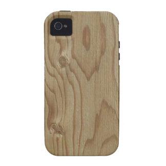 Wood Grain Vibe iPhone 4 Case