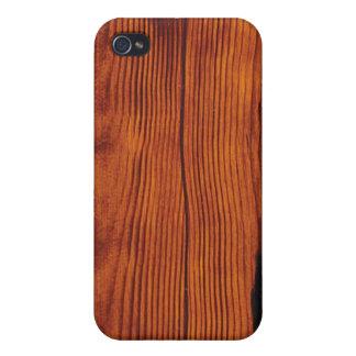 Wood Grain Case iPhone 4 Cases