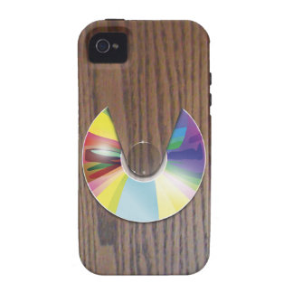 Wood grain CD player iPhone 4S iPhone 4 Cases
