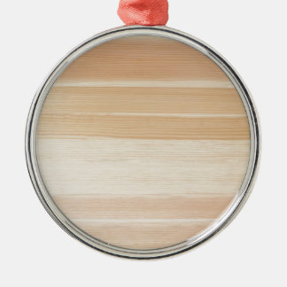 Wood grain christmas ornament