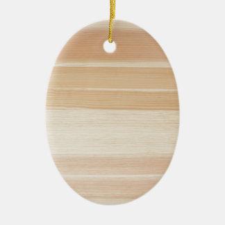 Wood grain christmas ornament
