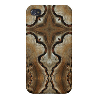 Wood Grain Cross iPhone Case iPhone 4/4S Cases