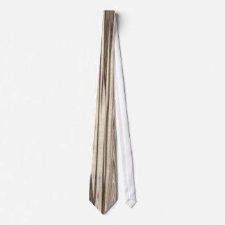 Wood Grain Design Tie