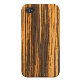 Wood grain effect on beautiful i iPhone 4/4S cover