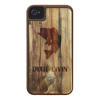 Wood-grain Fish by Dixie Livin' iPhone 4 Case