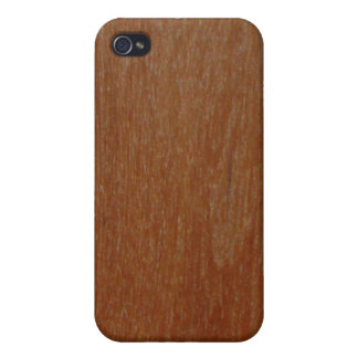 Wood Grain iPhone 4 Cover