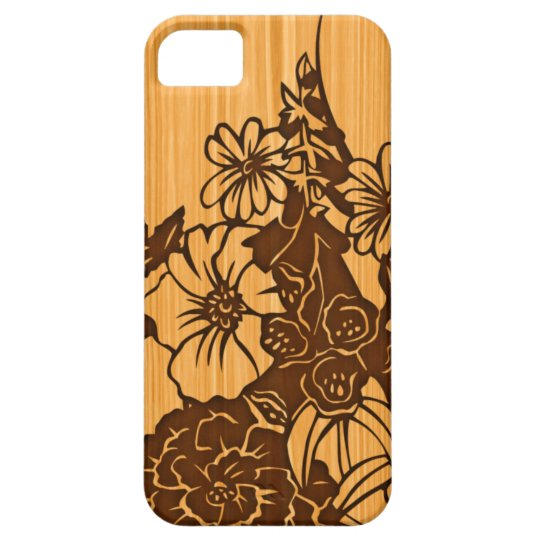 Wood Grain iPhone 5G Barely There Case-Mate iPhone