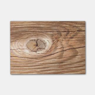 Wood Grain Knothole Post-it® Notes