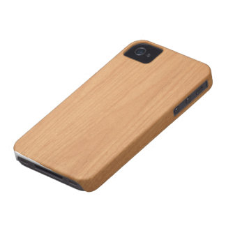 Wood Grain Maple Blackberry Case