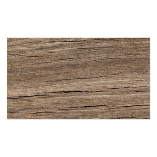 Wood Grain Pack Of Standard Business Cards