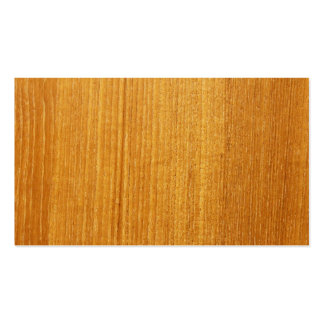 Wood Grain Pattern Business Cards