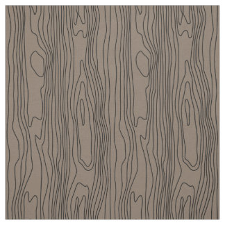 Wood grain pattern fabric