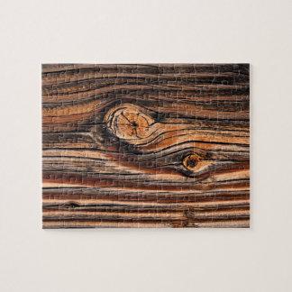 Wood Grain Pattern Jigsaw Puzzle