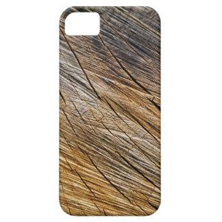 Wood grain pattern smartphone cover