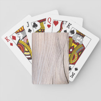 Wood Grain Playing Cards