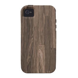 Wood Grain Print Wood Grain Pattern Wood Design iPhone 4/4S Case