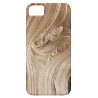 Wood grain slit iPhone 5 cases