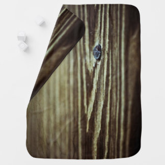 Wood Grain Texture by Shirley Taylor Baby Blanket