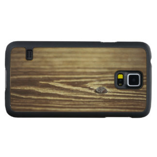 Wood Grain Texture Carved® Maple Galaxy S5 Slim Case