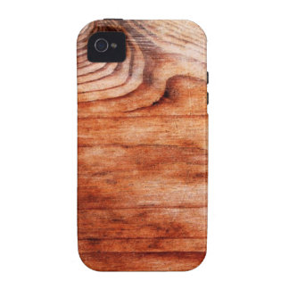 Wood Grain Texture Case-Mate iPhone 4 Covers