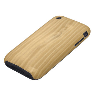 Wood Grain Texture iPhone 3 Tough Covers