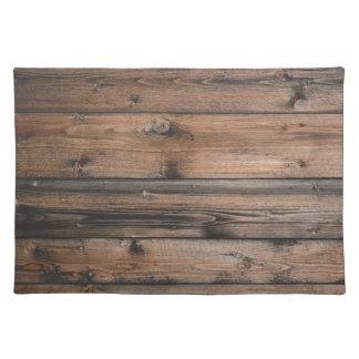 Wood Grain Texture Placemat