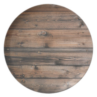 Wood Grain Texture Plate