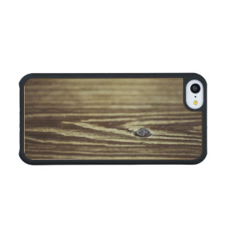 Wood Grain Texture Carved® Maple iPhone 5C Case